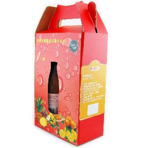 2瓶礼盒装1升健康果汁组合