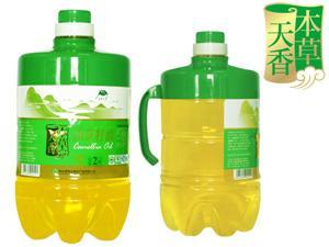 2升装压榨一级纯茶油