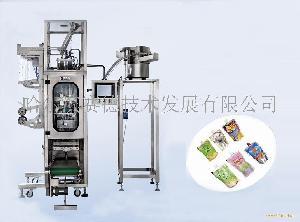 立式袋加盖(加嘴)全自动包装机、灌装机