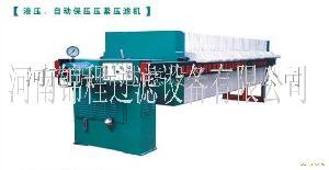 液压压紧压滤机