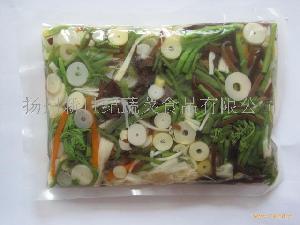 水煮山菜混合