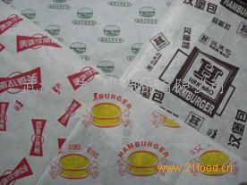 半透明包装纸汉堡纸