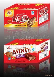 25克巧克力威化纸箱