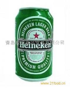 500ML喜力啤酒