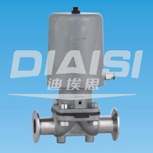 卫生级气动(不锈钢气动执行器)隔膜阀