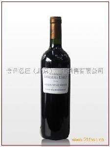 红酒品牌朗格斯干红葡萄酒
