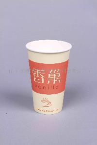 南昌鲜徠客16盎司双面咖啡纸杯