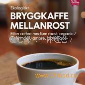 藍山有機黑咖啡粉 BRYGGKAFFE MELLANROST