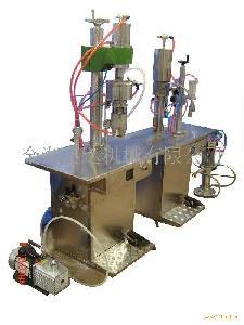 富达二元包装气雾剂灌装机