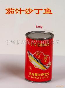155G茄汁沙丁鱼Canned Sardines