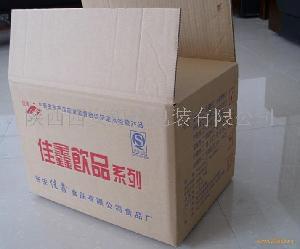 嘉鑫饮品外包装纸箱
