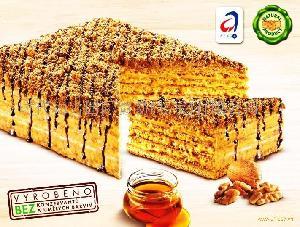 美兰卡蜂蜜核桃蛋糕