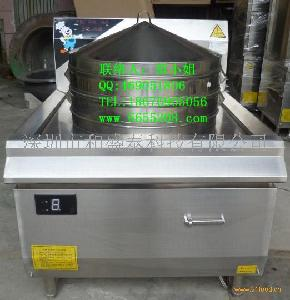 大功率电磁蒸包炉