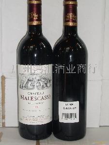 法国中级庄红酒