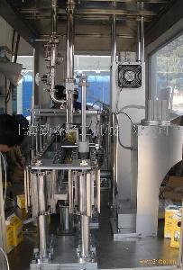 劲森轻工食品公司半自动纸盒灌装机包装机