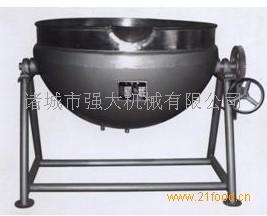 半钢夹层锅
