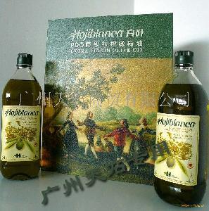 大礼盒——西班牙白叶原瓶原装橄榄油