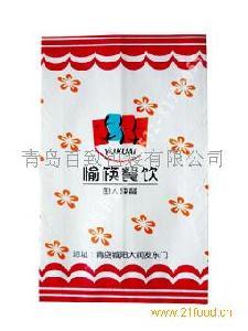 青岛防油纸袋加工 专业制作防油纸袋
