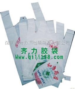 HDPE奶白背心袋
