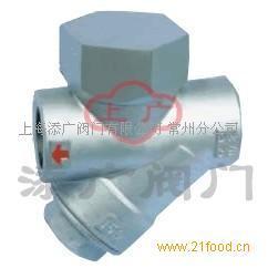 产品名称:仪表不锈钢(圆盘式)疏水阀 二,结构特点: 1,带蒸汽或空气图片