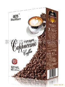 马来西亚倍丽朵卡布奇诺咖啡 Cappuccino Coffee 8盒x18克