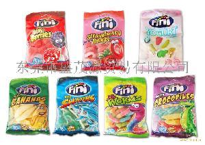 西班牙进口食品糖果 菲尼橡皮糖QQ糖(7种口味)