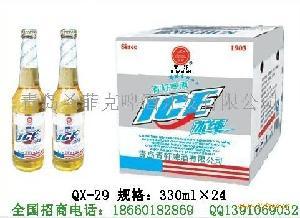 330ml青轩纯啤夜场啤酒