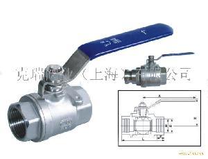 二片式球阀(2PC)Q11F