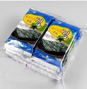 韩国进口橄榄油海苔