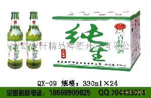 青轩新款纯啤330毫升啤酒
