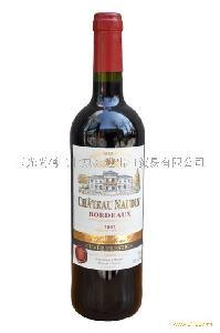 法国波尔多诺丁城堡干红葡萄酒