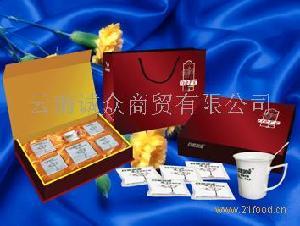 白金芋宝红礼盒