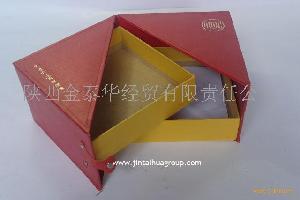 仿皮食品包装盒