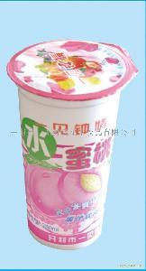 一见钟情水蜜桃果汁饮料