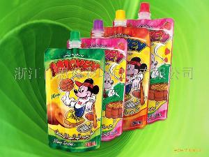 200ml果汁自立袋