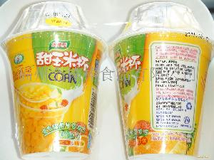鲜甜玉米杯