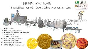 TSE双螺杆膨化玉米片生产线设备