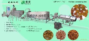 双螺杆狗粮生产线膨化设备