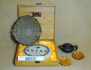 安化黑茶千两饼礼盒