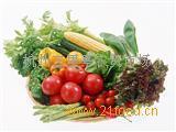 各种绿色蔬菜