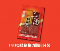 精制猪肉脯盒装150g