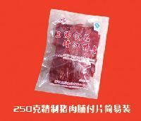 精制猪肉脯付片250g