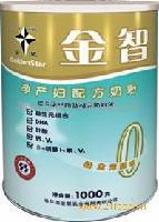金星牌1000克金智0段奶粉