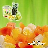 热带水果什锦罐头