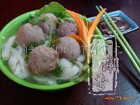 牛肉丸粿条(河粉)汤