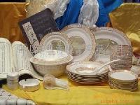 骨质瓷餐具-清明上河图