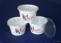 肯德基汤杯,口径99mm,高度65mm,容量320ml,一次性打包碗