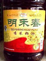 明禾春香菜籽油5L