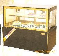 不锈钢日式直角制冷展示柜