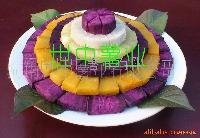 黑紫色紅薯苗